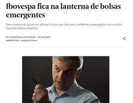 Notícia Ibov (mercado internacional).